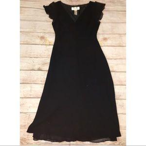 Joes New York Sheer Overlay Dress